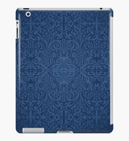 Etnic Pattern Blue iPad Case/Skin