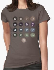 Physics Standard Model Womens Fitted T-Shirt