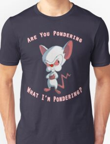 Pinky and The Brain - Pondering T-Shirt