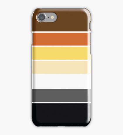 Bear Brotherhood Pride Flag iPhone Case/Skin