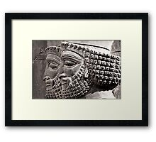 Eyes That Watched Framed Print