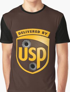 Delivered By USP (Official) Graphic T-Shirt