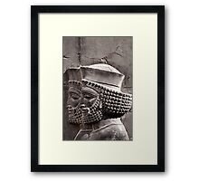 Achaemenian Guards Framed Print