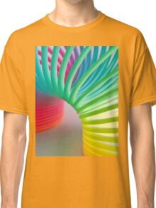 Rainbow Slinky Classic T-Shirt