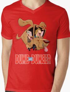 Dumb and Dumber Mens V-Neck T-Shirt