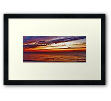 Sky and Sea Framed Print