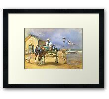 The Pelican Pantry Framed Print