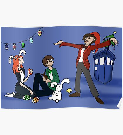 The Doctor is Late: Happy Holiday Greetings! Poster