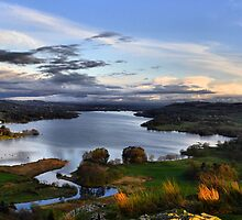 Lake Windermere from Loughrigg Fell, Ambleside by John McGrath