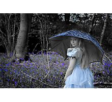 Blue Belle Photographic Print