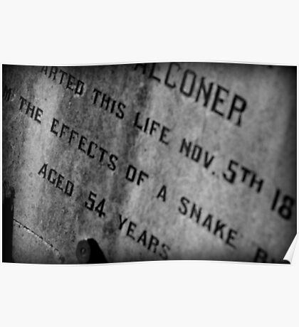 Pioneer Cemetery Poster