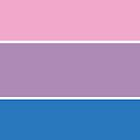 Bisexual Pride Flag by ShowYourPRIDE