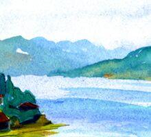 Lake Como, Italy 2 Sticker