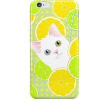 Lemonade Kitty Cat iPhone Case/Skin