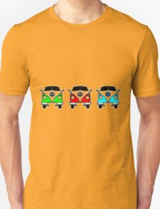 VW Camper Van Threesome T-Shirt