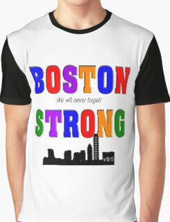 Boston Strong Skyline Graphic T-Shirt