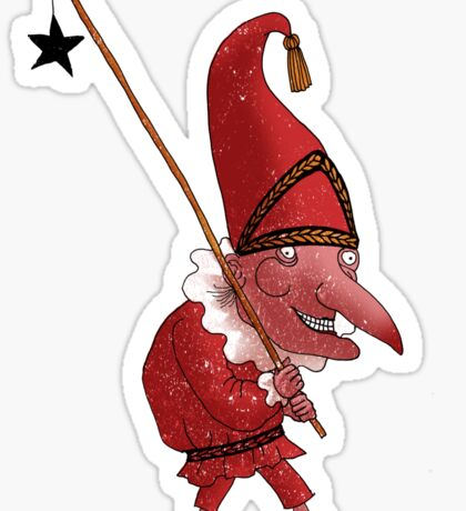 Mr. Punch and the Dark Star Sticker