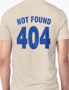 Team shirt - 404 Not Found, blue T-Shirt