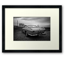 Volvo P1800 S Coupe Framed Print