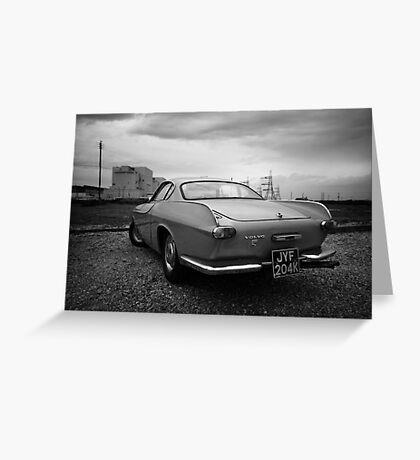 Volvo P1800 S Coupe Greeting Card