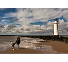 New Brighton sea side Photographic Print