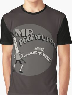The Mr. Poopybutthole Show Graphic T-Shirt
