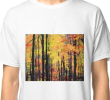 Fall tree line - Red/yellow  ... no border Classic T-Shirt