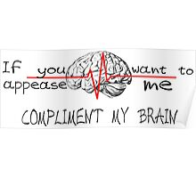 Brain-Grey's Anatomy Poster