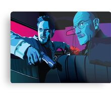 Jesse and Walter Metal Print