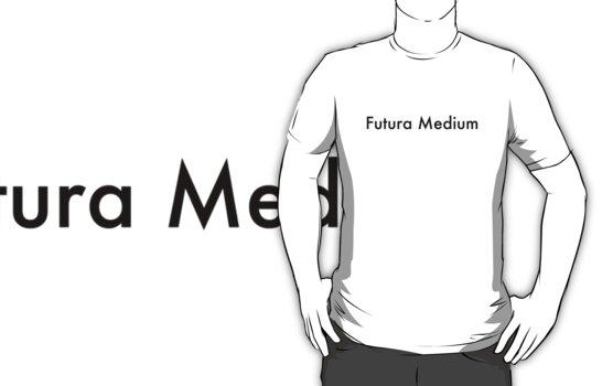 Futura Medium by John Perlock