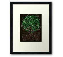 Earthbender Framed Print