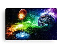Lunar Explosion Canvas Print
