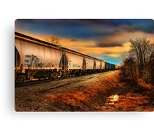 """ The Grain Train "" Canvas Print"