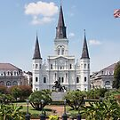 St. Louis Cathedral by Jory Authement