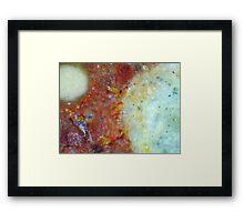 Red Sky Satellite Framed Print
