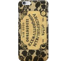 Ouija Board and Lace iPhone Case/Skin