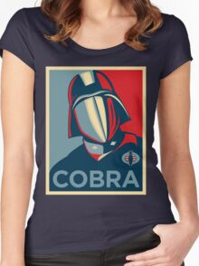 Cobra - Hope Women's Fitted Scoop T-Shirt