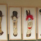 Whittling Willy's Carvetoons by Brian Towers