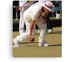 M.B.A. Bowler no. a089 Canvas Print
