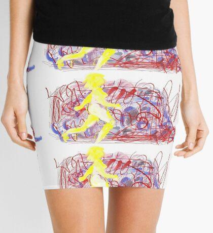 Graffiti Bridge Mini Skirt