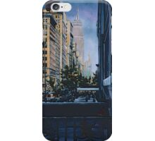 A Moment Hush in the City Limits, New York City iPhone Case/Skin