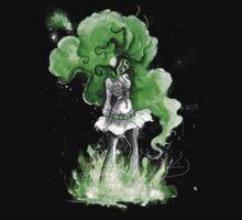 Rainbow Punk: Malachite Bassdrop One Piece - Short Sleeve