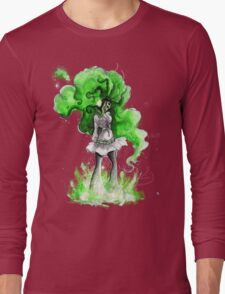 Rainbow Punk: Malachite Bassdrop Long Sleeve T-Shirt