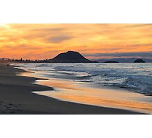 sunset at the Mount Photographic Print