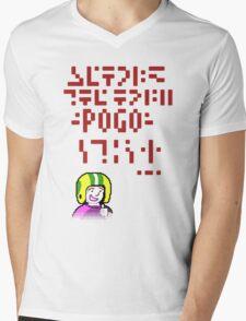 Galactic Pogo Mens V-Neck T-Shirt