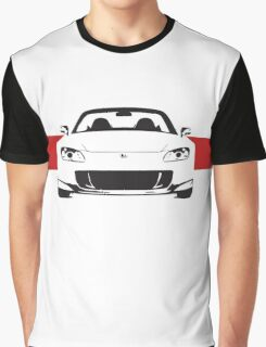 AP2 with red stripe Graphic T-Shirt
