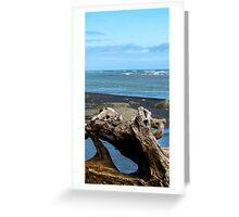 sculptural driftwood Greeting Card