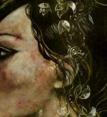 The Bride of Glass Blossoms Sticker