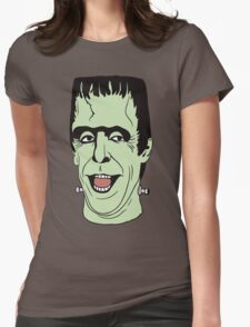 Happy Munsters Womens Fitted T-Shirt