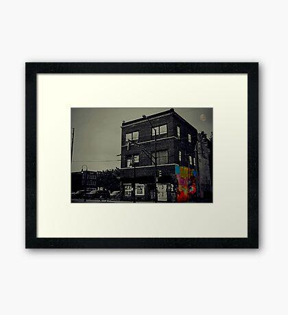 Nobody lives here anymore Framed Print